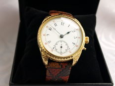 11 Longines marriage men's wristwatch 1880-1887.