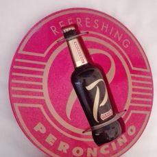 Rare vintage beer counter top sign for Peroncino (Peroni)