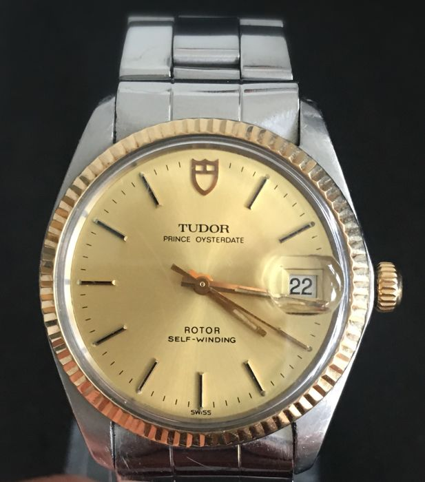 Tudor prince Oysterdate men's watch