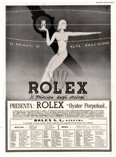 ADVERTISING 1941 ROLEX ORIGINAL