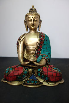 Bronze Buddha - Nepal - early 21st century.