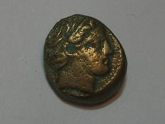 Ancient Greece - Macedonia - KINGDOM OF MACEDONIA - Philip II - Unite Ae (circa 356-336 B.C.). F+/VF.