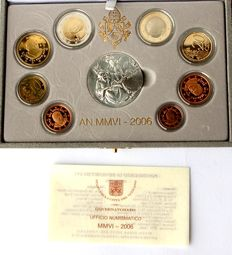 Vatican - euro 2006 Vatican original KMS Vatican in blister with medal, proof