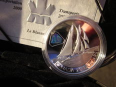 Canada – 20 dollars 2000 'Le Bluenose' with hologram – 1 oz Silver