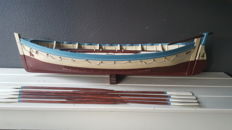 Titanic's no. 14 lifeboat scale model