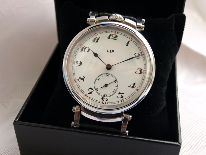 24 LIP men's marriage wristwatch 1905-1910