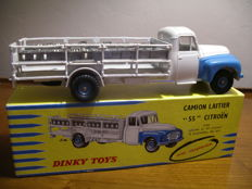 Dinky Toys-France - Scale 1/48 - Dairy truck 55 Citroen No.586