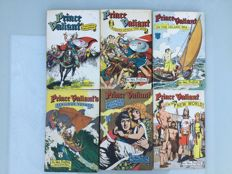 Collection Of Prince Valiant Books - English Language - Hardback With Dust Jackets - x6 HC - (1951-1956)