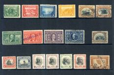 USA 1850s/1939 - Small collection, with 1900s issues