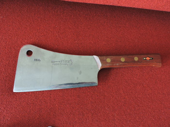 F. Dick Made in Germany - large heavy butcher's knife - model 1100