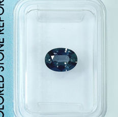 Blue green sapphire - 1.12 ct - No Reserve Price