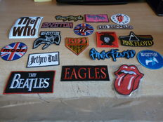 Amazing collection of  18 unused Sew On Badges 1960's - 1970's
