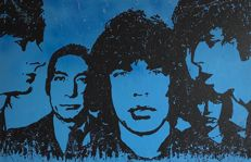 Gerke Rienks - The Rolling Stones , Black and Blue