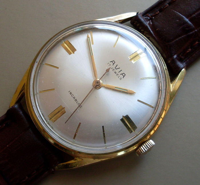 Swiss AVIA — men's wristwatch — 1960-1969