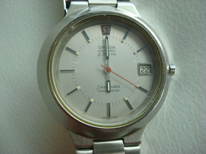 "Omega Seamaster Electronic f300Hz chronometer – ""Cone"" – Swiss made – 70s"