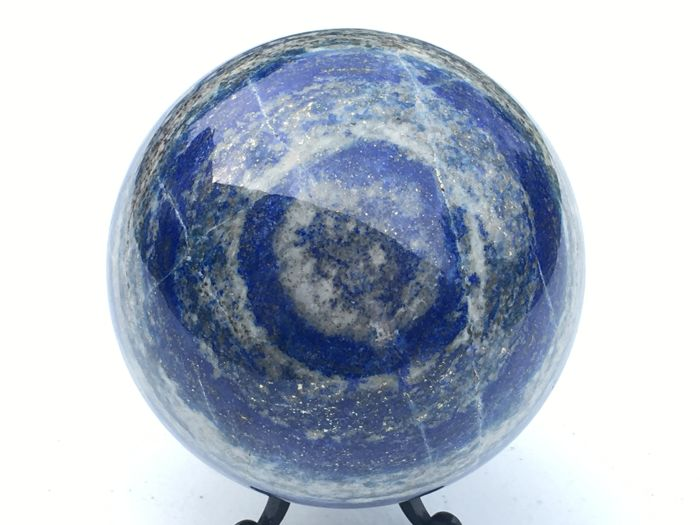 Large, polished Blue Lapis Lazuli - 110 mm - 1820 gm