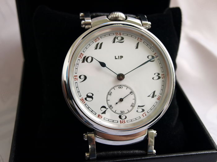09 LIP men's marriage wristwatch 1905-1910