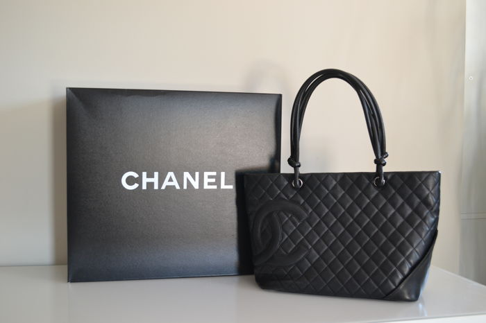 f27fd5b1ad6c Chanel - Cabas Bag - Cambon Collection - Catawiki
