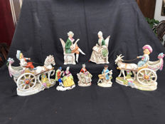 Collection of Dresden porcelain