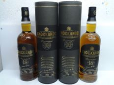 2 bottles - Knockando 18 years old 1996