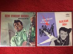 2 albums from Gene Vincent - Gene Vincent Rocks /Bluejean Bop