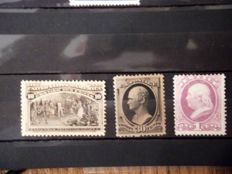 United States of America 1870/1893 - Selection between Michel 45/80