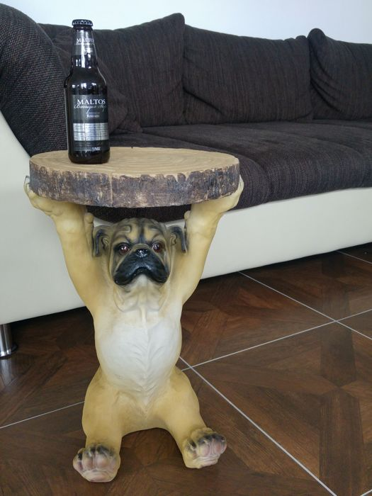 Sculpture table for dog lovers - 6.4 kg
