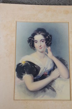 Unnsigned - Portrait of a lady - date unknown