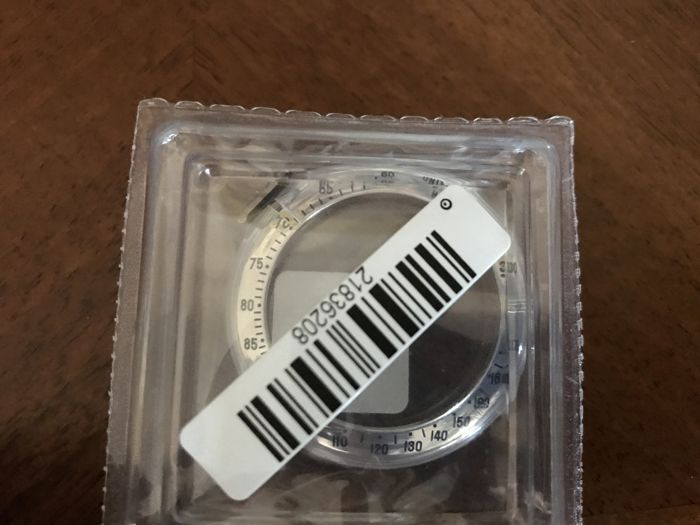 Rolex – New steel bezel in blister pack, 2017.
