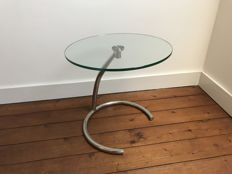 SoHOME – glass and chrome side table