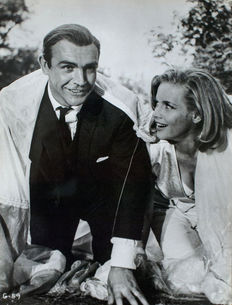 Unknown - Sean Connery & Honor Blackman - 'Goldfinger' - 1964