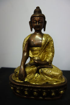 Bronze Buddha – Nepal – late 20th century