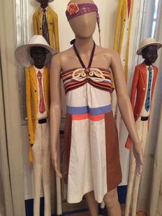 Missoni - Embroidered and multicoloured dress - Bohemian style - no reserve