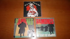 3 very rare and hard to find Punk/Metal singles from Acid and Ramones!