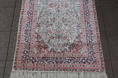 Splendid & Original China HEREKE 100% pure silk finely knotted 160x78 cm 1400000 knots M/2