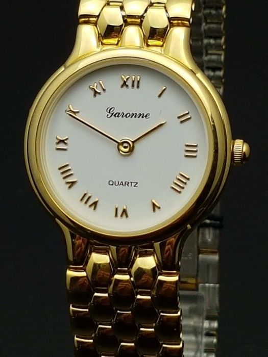 Garonne Gold-plated Swiss – wristwatch – new old stock