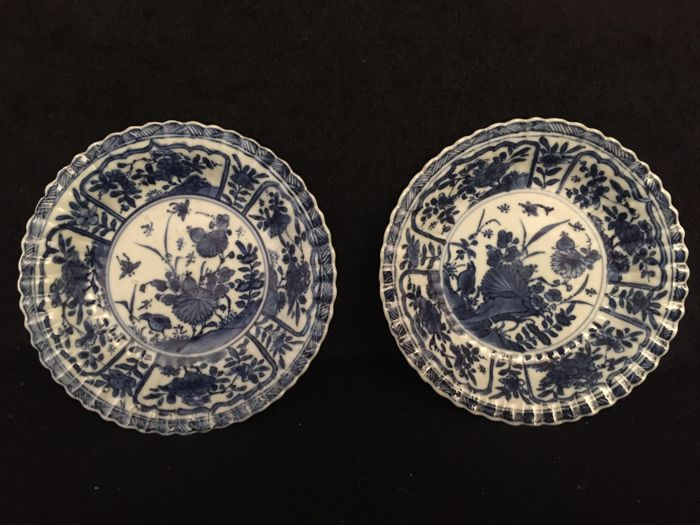 Pair of saucers – China – Kangxi 1662-1722