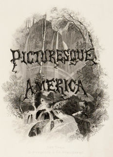 William Cullen Bryant -  Picturesque America, or the land we live in A delineation by pen and pencil ......... With illustrations made with steel and wood by distinguished artists - 1872-1874