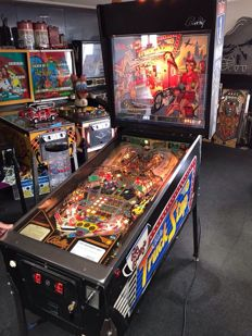 Bally's Truck Stop pinball machine