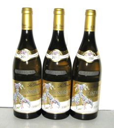 2016 Condrieu la Doriane, Domaine E. Guigal – Lot of 3 bottles