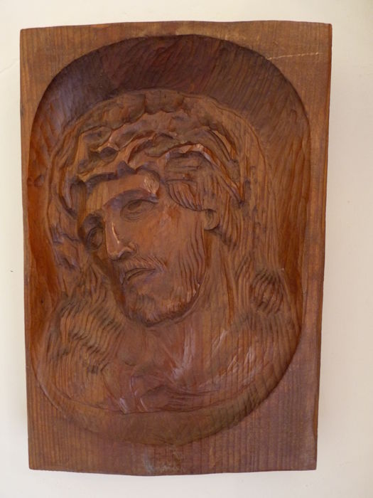 Wooden sculpture of Christ - first half 20th century