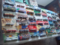 Collection - brewery trucks and advertising trucks, many classic trucks and rarities, 78 items