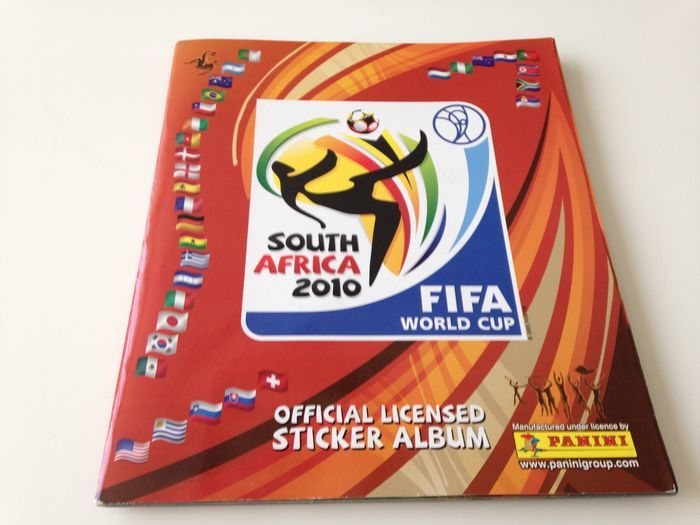 Panini - WC 2010 South-Africa -  Complete album.