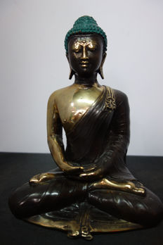 Bronze Buddha – Indonesia – late 20th century