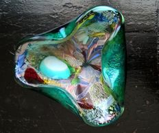 "Attributed to Dino Martens (A.V.E.M) - Murano ""tuttifrutti"" bowl (15 cm)"