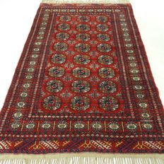 Bukhara – 199 x 125 cm – Persian rug in beautiful condition – with certificate