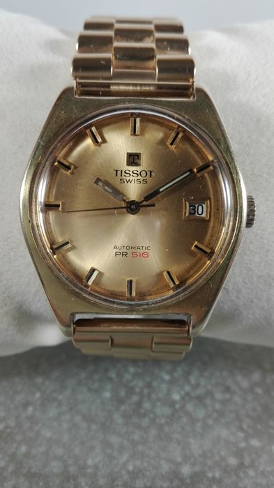Tissot  PR 516 — Men's wristwatch — 1970s
