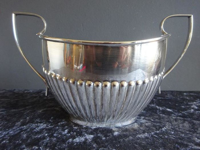 Silver plated Art Deco sugar pot - Sheffield -England - ca 1920