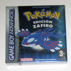 Red Seal Pokemon Sapphire for Nintendo Gameboy Advance.