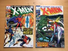 Marvel Comics - X-Men #61 And #63 - Neal Adams - (1969)